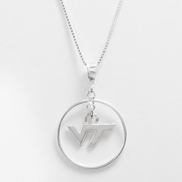 Dayna U Virginia Tech Hokies Sterling Silver Logo Pendant