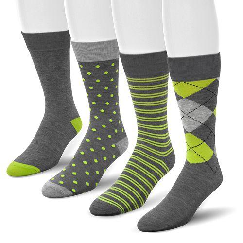 265305f6b4b4 Van Heusen 4-pk. Crew Dress Socks - Men