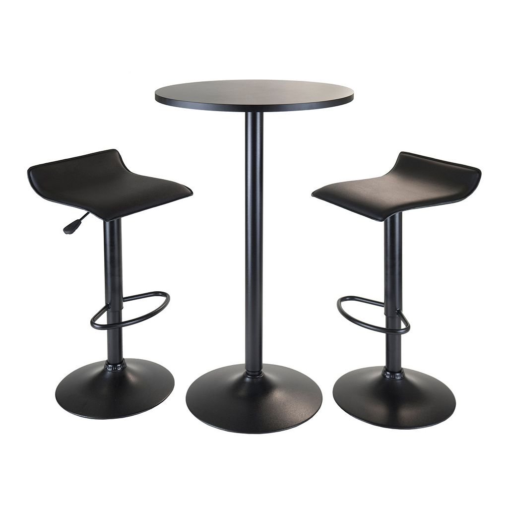 Winsome Obsidian 3-pc. Pub Table Set