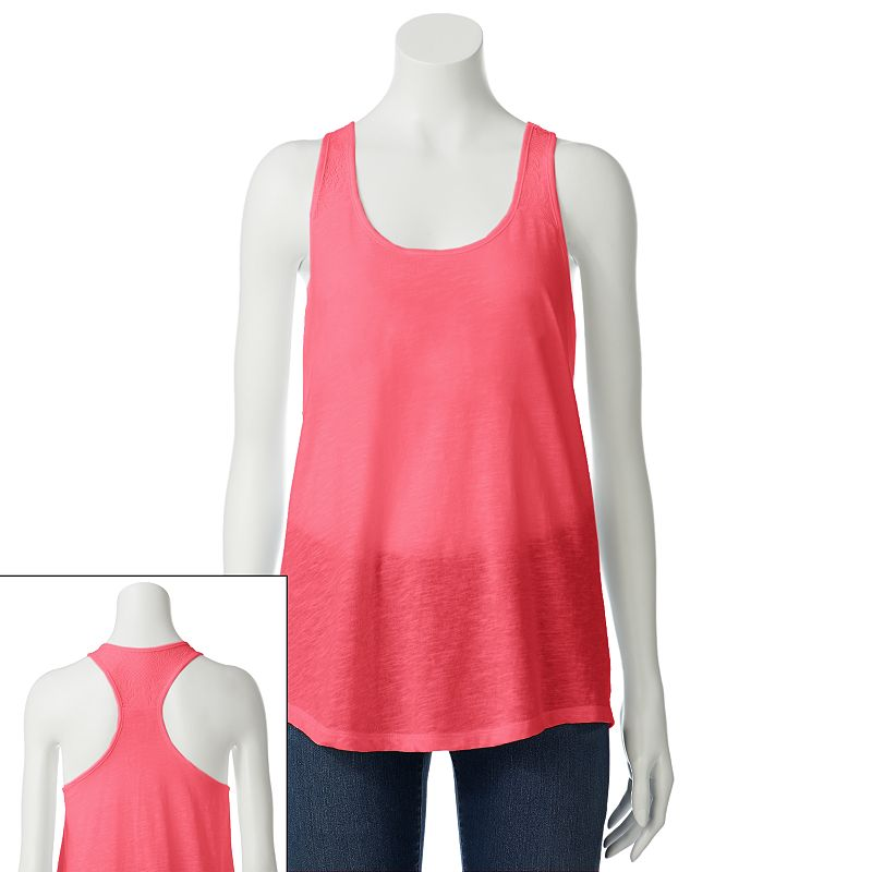 SO Lace Racerback Tank - Juniors