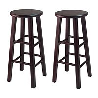 Winsome 2-pc. Espresso Bar Stool Set