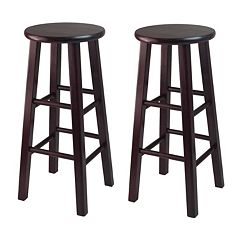 Winsome 2 pc Espresso Bar Stool Set