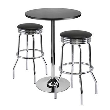 WinsomeSummit 3-pc.Bar Dining Table Set