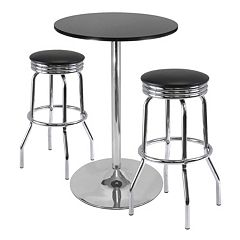 Winsome Summit 3 pc Pub Dining Table Set