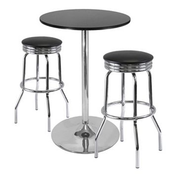 Winsome Summit 3-pc. Pub Dining Table Set