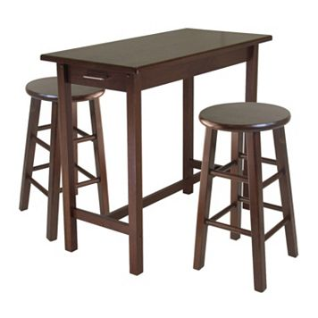 Winsome 3-pc. Breakfast Table & Stool Set