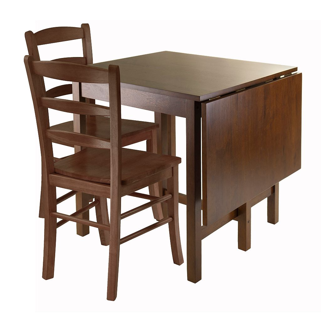 Winsome Lynden 3-pc. Drop Leaf Dining Table & Chair Set