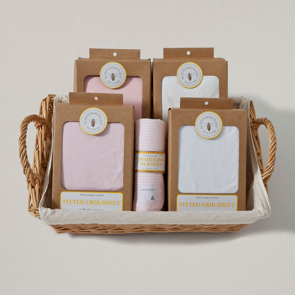 Burt's Bees Baby Organic Blossom Bedding Gift Set