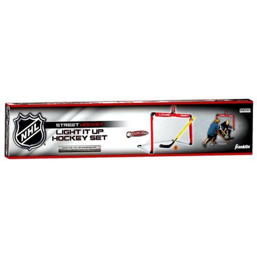Franklin NHL Light It Up Street Hockey Goal Set