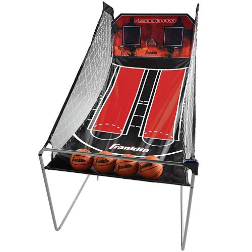 Franklin Sports Double Shot Rebound Pro Basketball Game