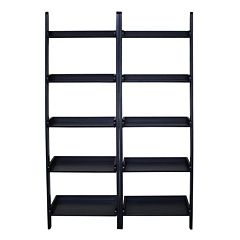 2-pc. Lean To Shelf Unit Set