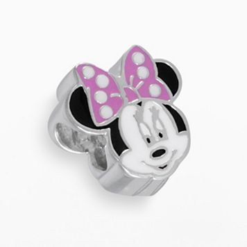 Disney Minnie Mouse Sterling Silver Bead