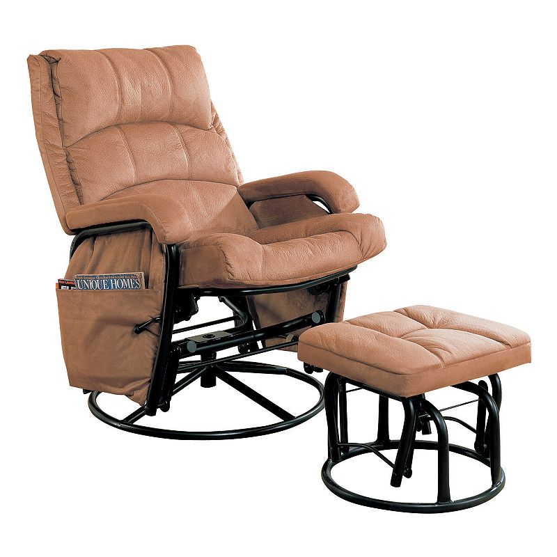 Reclining Glider Rocking Chair and Ottoman Set - Couches Furniture Gallery - Page 977 Of 1573 - Best Place To Find