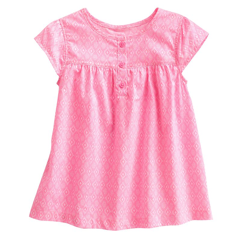 Carter's Woven Geometric Top - Girls 4-6x Size 4