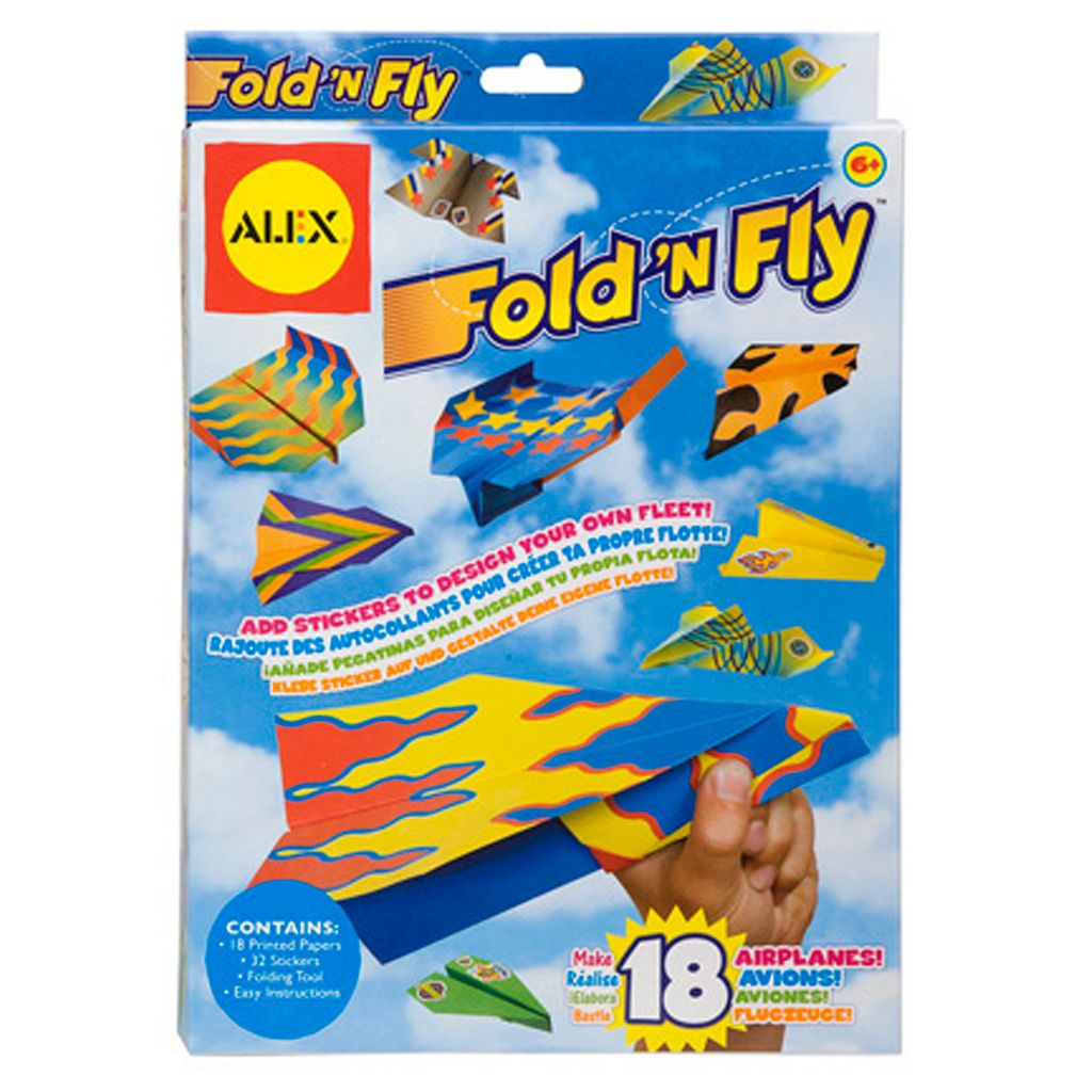 ALEX Fold 'N Fly Paper Airplanes