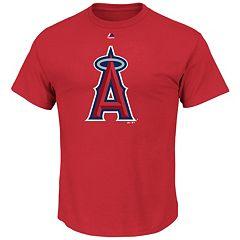 Majestic Los Angeles Angels of Anaheim Cooperstown Tee - Men