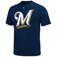 Majestic Milwaukee Brewers Cooperstown Tee - Men