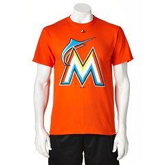 Majestic Miami Marlins Cooperstown Tee - Men