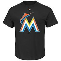 Majestic Miami Marlins Cooperstown Tee - Men