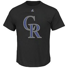 Majestic Colorado Rockies Cooperstown Tee - Men