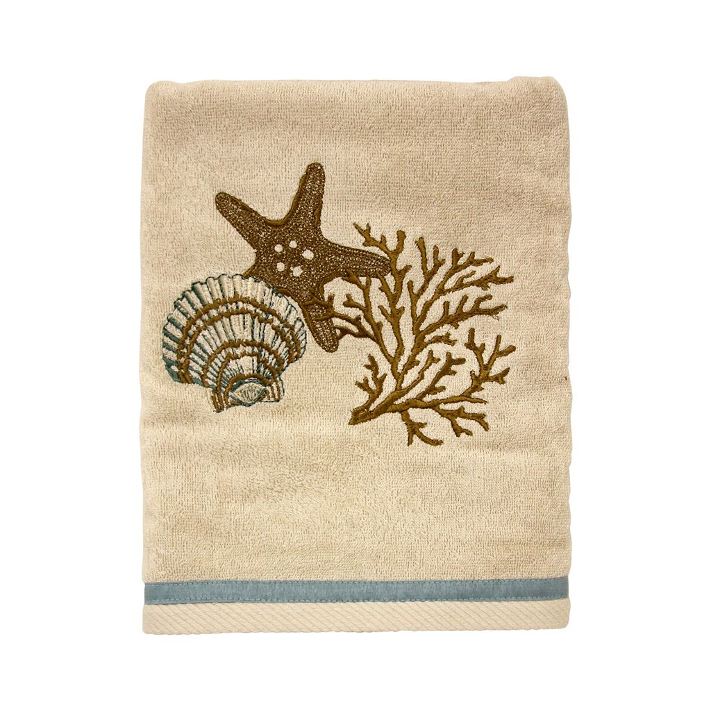 Coastal Moonlight Bath Towel