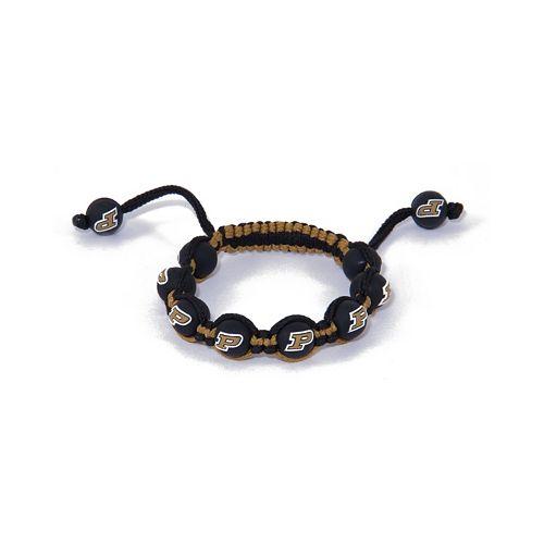 Purdue Boilermakers Bead Bracelet