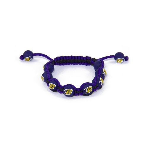 Baltimore Ravens Bead Bracelet