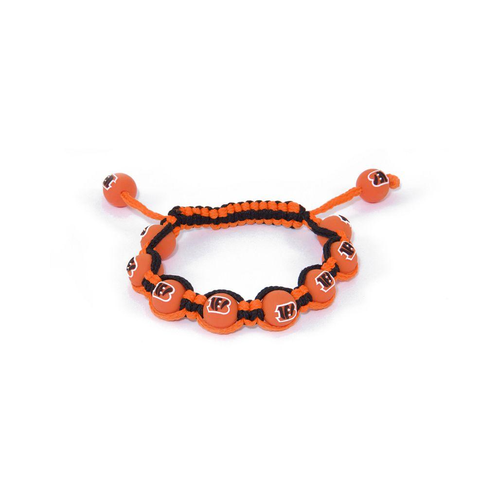 Cincinnati Bengals Bead Bracelet