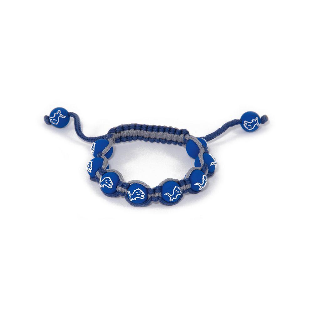 Detroit Lions Bead Bracelet