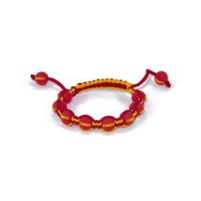 Kansas City Chiefs Bead Bracelet