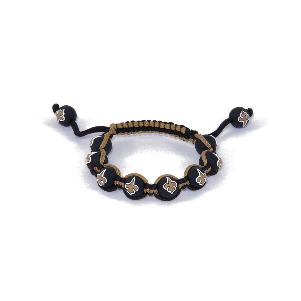 New Orleans Saints Bead Bracelet