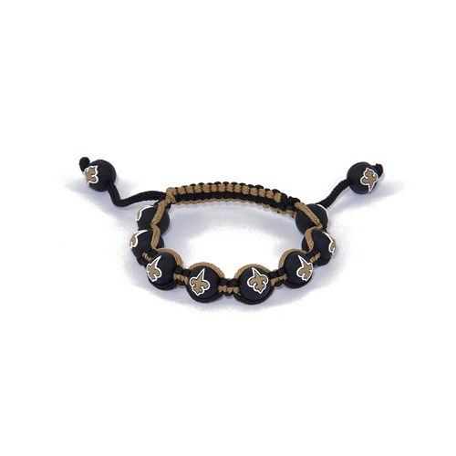 New Orleans Saints Bead Bracelet