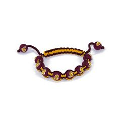 Washington Redskins Bead Bracelet