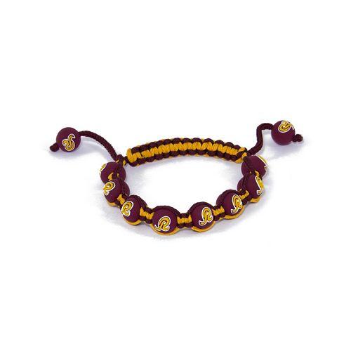 Washington Redskins Bead Bracelet