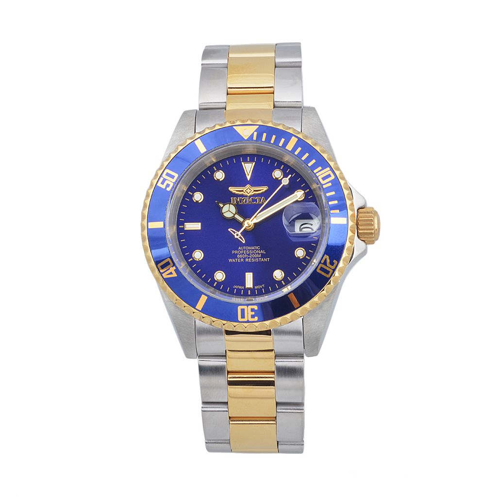 Invicta Men's Pro Diver Two Tone Stainless Steel Automatic Watch - KH-IN-8928