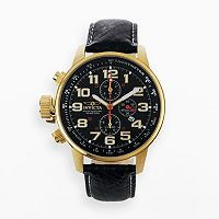 Invicta Watch - Men's Force Leather Chronograph Lefty
