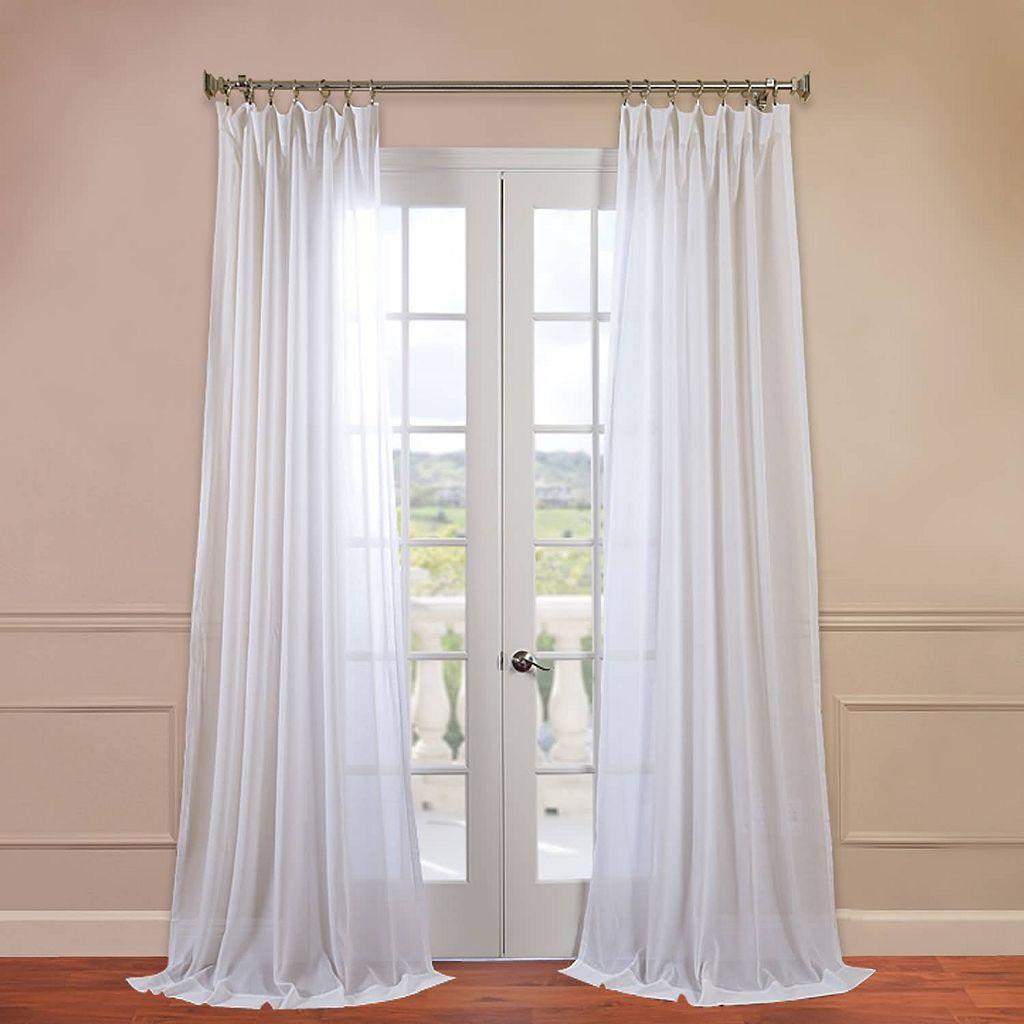 EFF Solid Sheer Window Panel - 50