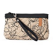 Donna Sharp Quilted Convertible Wristlet