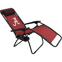 College Covers Alabama Crimson Tide Zero Gravity Chair