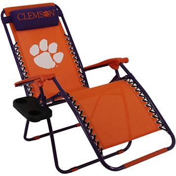 College Covers Clemson Tigers Zero Gravity Chair