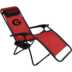 College Covers Georgia Bulldogs Zero Gravity Chair