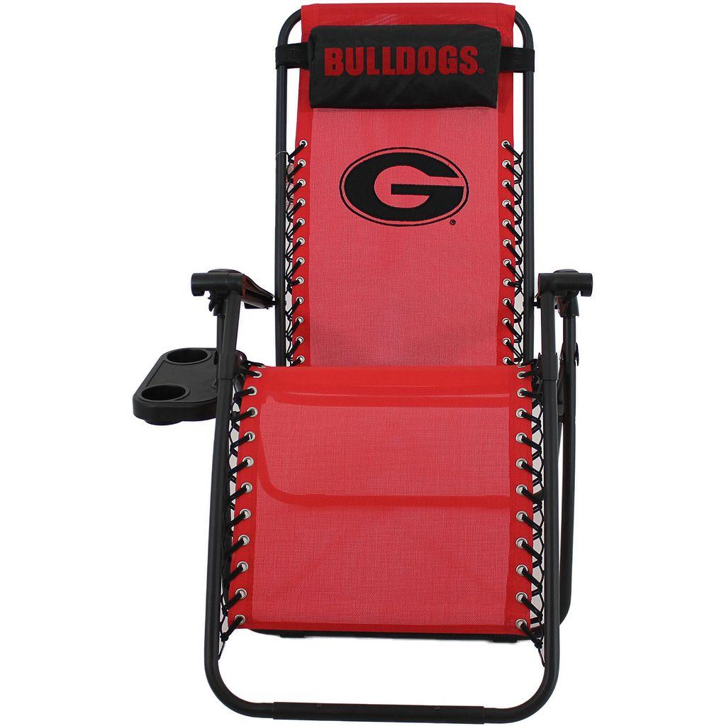 College Covers Georgia Bulldogs Zero Gravity Chair