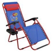 College Covers Kansas Jayhawks Zero Gravity Chair