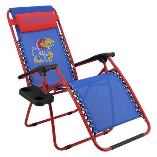 College Covers Kansas Jayhawks Zero Gravity Chair