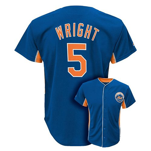 pretty nice a63b5 141db Majestic New York Mets David Wright Team Leader MLB Jersey - Boys 8-20