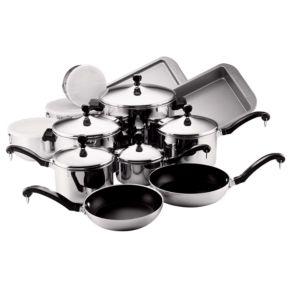 Farberware Classic Series 17-pc. Cookware Set