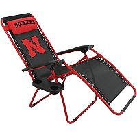 College Covers Nebraska Cornhuskers Zero Gravity Chair