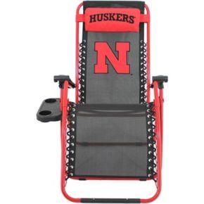 College Covers Nebraska Cornhuskers Zero Gravity Chair