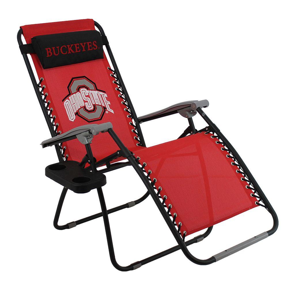 College Covers Ohio State Buckeyes Zero Gravity Chair