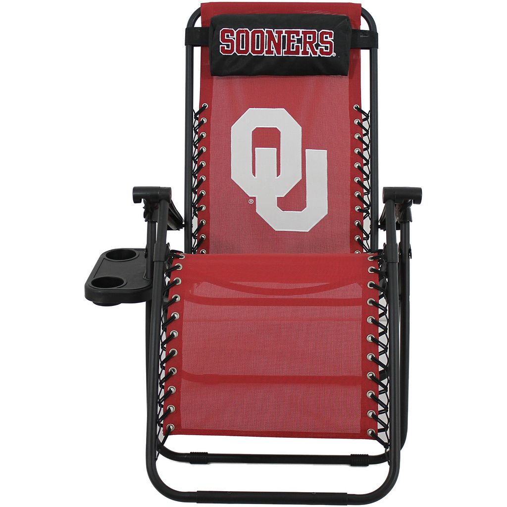 College Covers Oklahoma Sooners Zero Gravity Chair